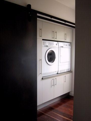 Laundries mitchell cabinetmakers for External laundry doors